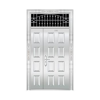 豪华不锈钢门-JT-8972(整板门)