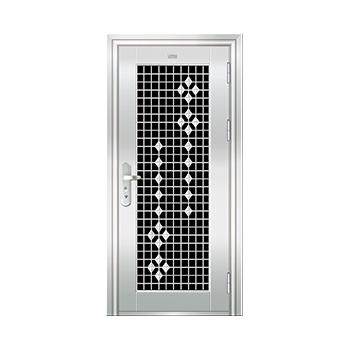 豪华不锈钢门-JT-9002(三类花)