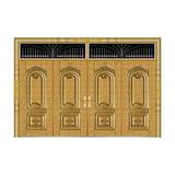 真空镀铜系列 -JT-9046(整版门/金钢铜)