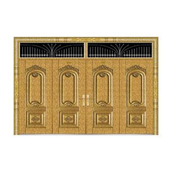 真空镀铜系列-JT-9046(整版门/金钢铜)