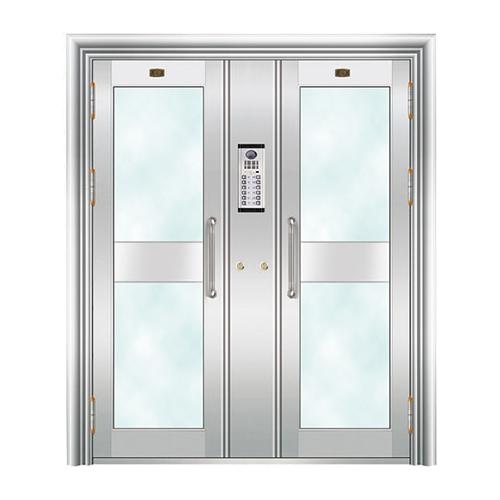 不锈钢楼寓门系列-JT-3151(楼寓门)