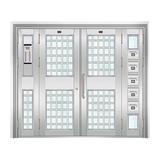 不锈钢楼寓门系列 -JT-3156(楼寓门)