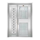 不锈钢楼寓门系列 -JT-3152(楼寓门)