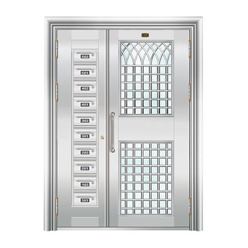不锈钢楼寓门系列-JT-3152(楼寓门)