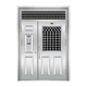 不锈钢楼寓门系列-JT-3149(楼寓门)