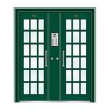 不锈钢楼寓门系列 -JT-3160(星际绿)