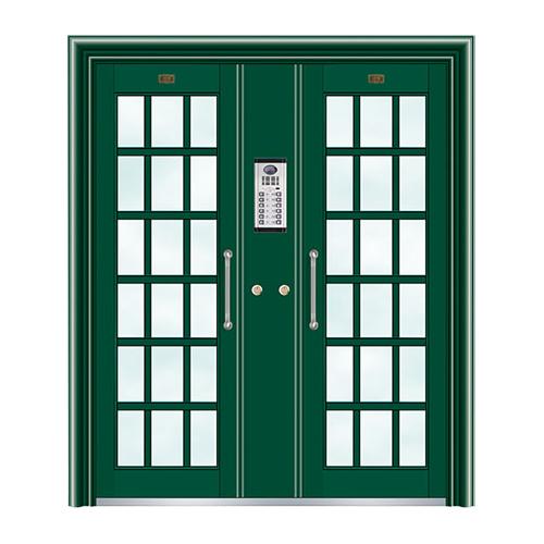 不锈钢楼寓门系列-JT-3160(星际绿)