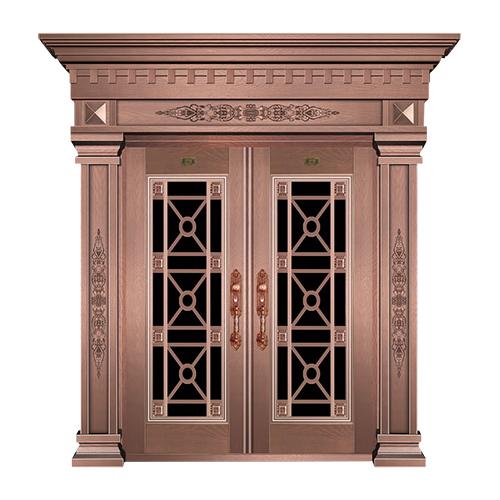 工艺铜门系列-JT-3012(仿古花)
