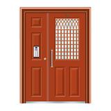 不锈钢楼寓门系列 -JT-3158(红铜色)