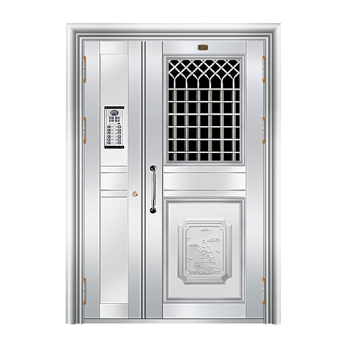 不锈钢楼寓门系列-JT-3148(楼寓门)