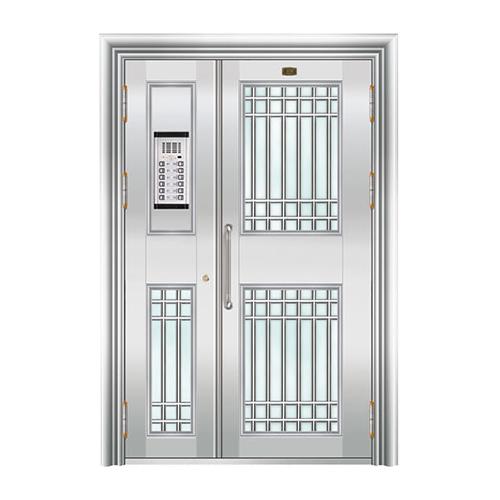 不锈钢楼寓门系列-JT-3155(楼寓门)