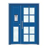 不锈钢楼寓门系列 -JT-3164(钴蓝)