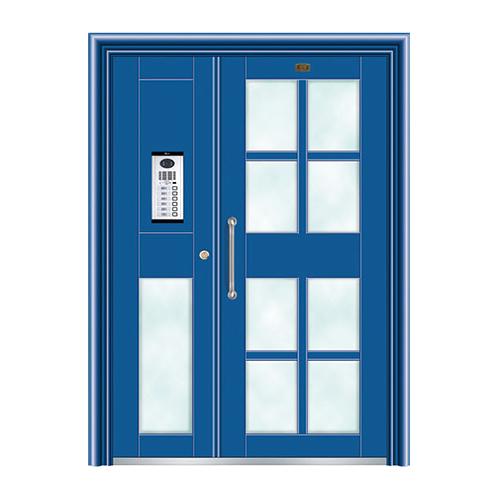不锈钢楼寓门系列-JT-3164(钴蓝)