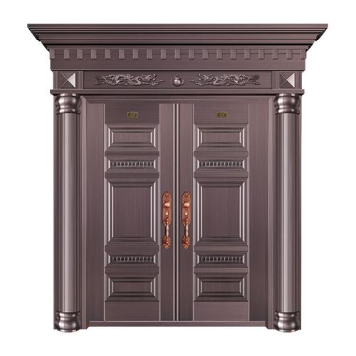 工艺铜门系列-JT-3016(整板拼接)