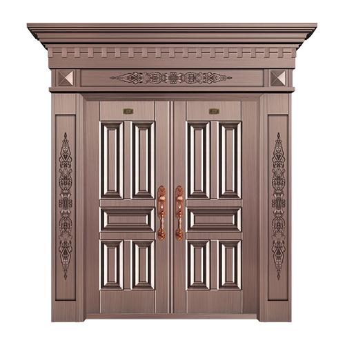 工艺铜门系列-JT-3021(整板压花)