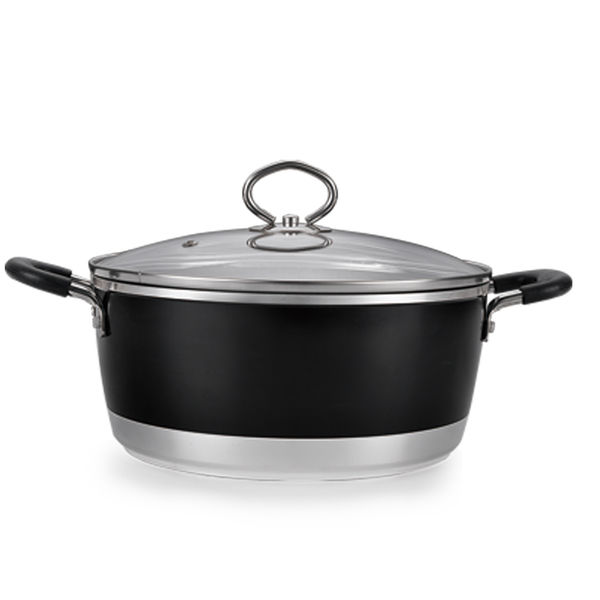 Black Forged Aluminum Cookware Set JX-FST-01