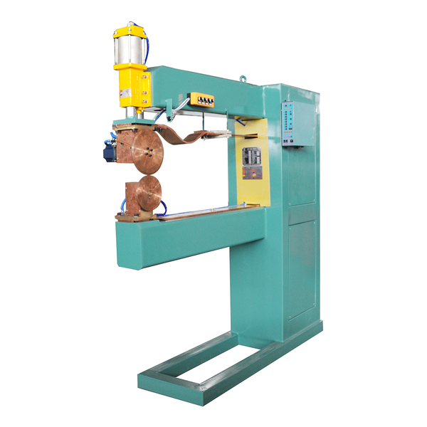 Straight seam welder