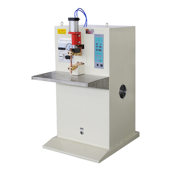 Temperature measuring rod energy storage spot welding machine