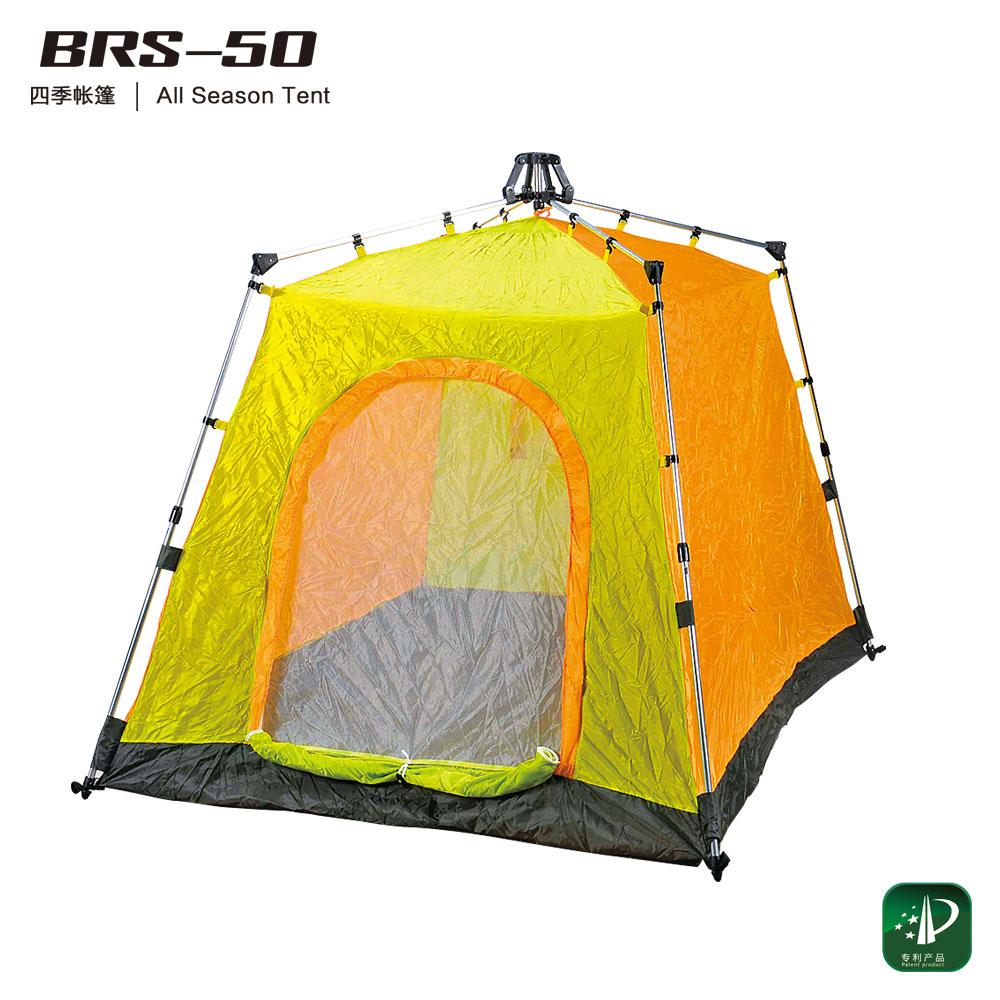3,快速的打开固定装置及收合结构,打开仅需3秒,收起仅需10秒 4,该帐篷