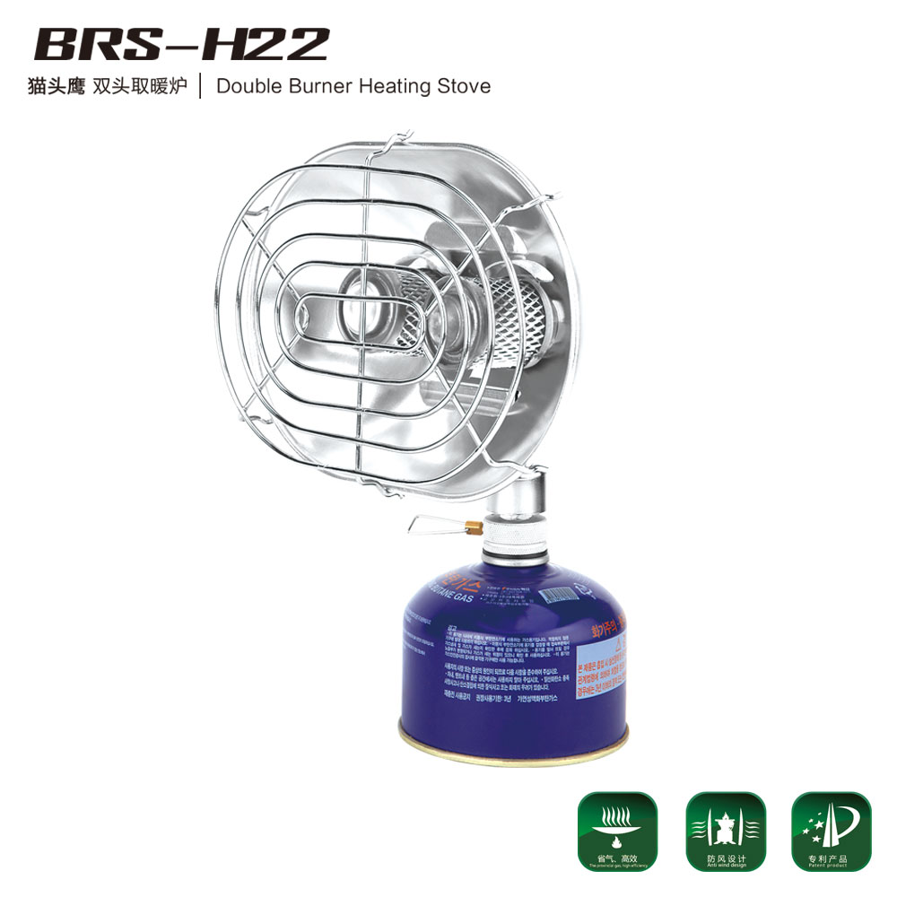 猫头鹰|双头取暖炉 BRS-H22