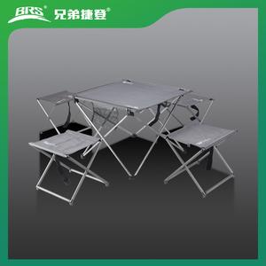 超輕便折疊桌凳五件套 BRS-T05