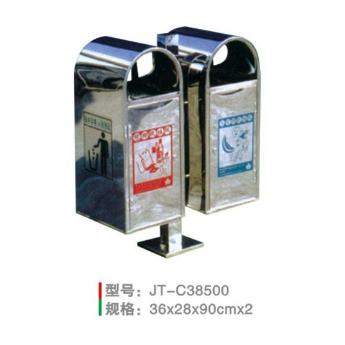 不锈钢/钢板喷塑垃圾桶系列-jt-c38500