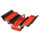 三层五格折叠式手提工具箱-JS-09C