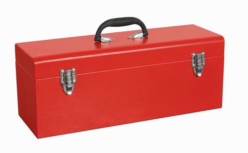 单层带托盘手提式工具箱-JS-13B