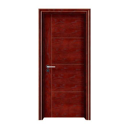 实木油漆生态木门-1015(红橡开放)
