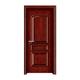 实木油漆生态木门-1001(红橡开放)