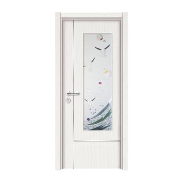经典生态木门-3077(白枫)