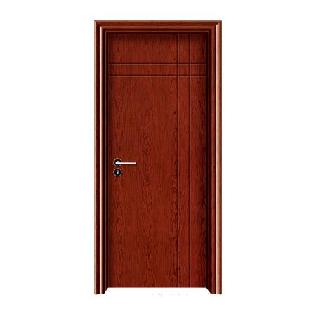 实木油漆生态木门-1012(花梨木)