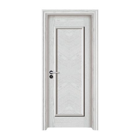 实木油漆生态木门-1009(白橡开放)