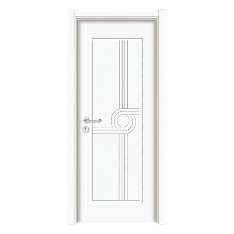 经典生态木门-3051(纯白)
