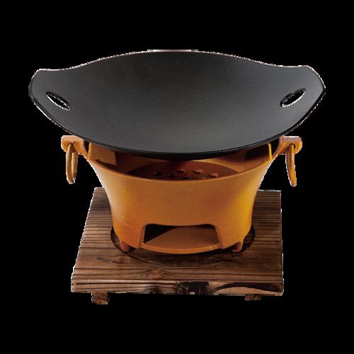 时尚双耳锅+大碳炉-