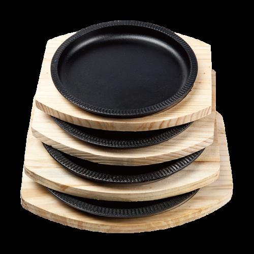 竹节烤盘 配 松木板-yZJ_-SM