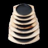 A烤盘 配 松木板 -yA_-SM