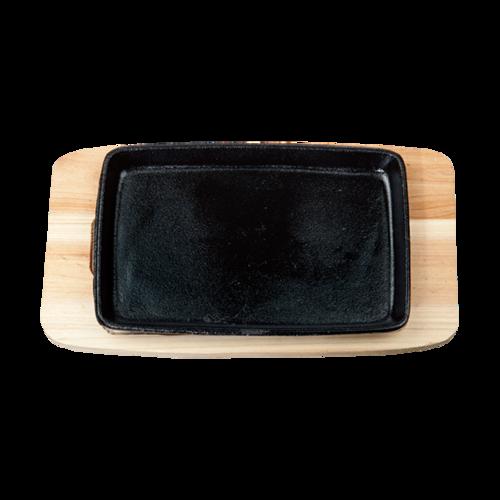 小方平盘 配 松木板-tXFP-SM