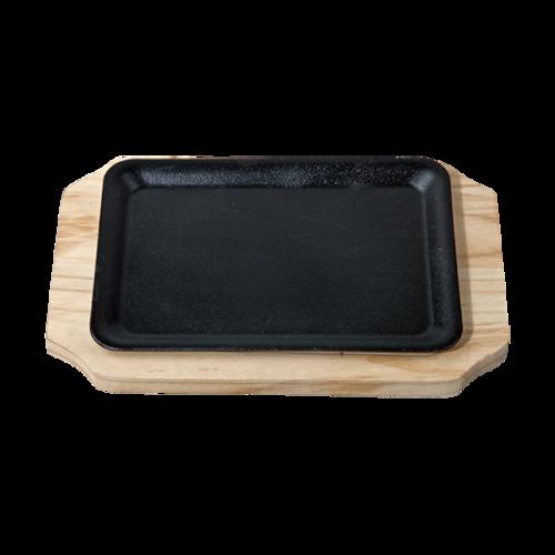 1号长方盘 配 松木板-fLCF-SM