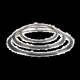 不锈钢双圈 -不锈钢双圈
