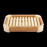 竹制圆角料理盒(大小) -竹制圆角料理盒(大小)