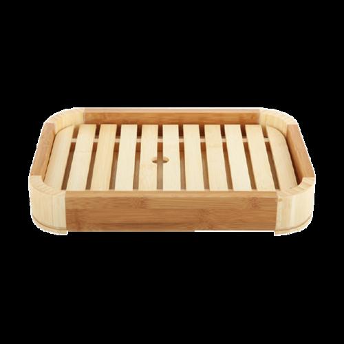 竹制圆角料理盒(大小)-竹制圆角料理盒(大小)