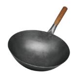 1.8厚手打单木柄铁锅 -1.8厚手打单木柄铁锅