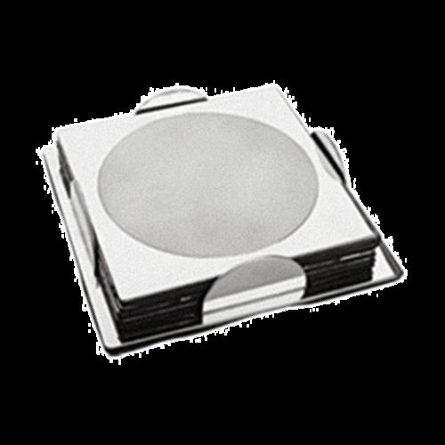 四片角座方形杯垫-DF-C03