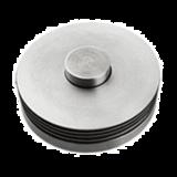 六片中栓座圆形杯垫 -DF-C02