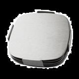 四拆角椭圆形杯垫 -DF-C05