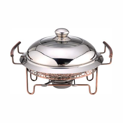 花典传统锅(铜拉丝高盖)-JLX-L037