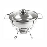 圆形不锈钢餐炉 -805