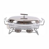 玻璃椭圆餐炉 -0905