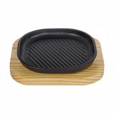 美洲煎盘 配 松木板  -MZJP_-SM